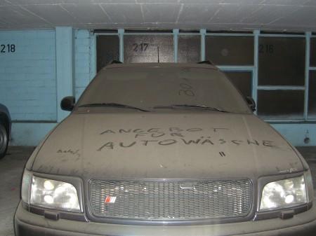 Dreckiger Audi