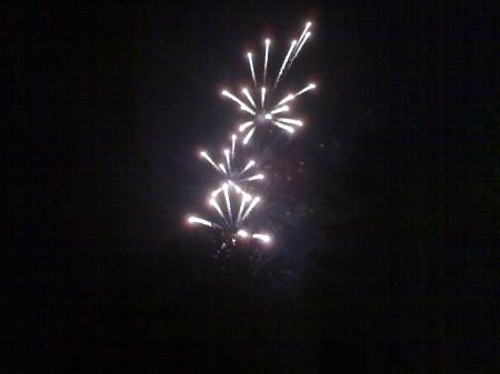 Kurparkfest Feuerwerk