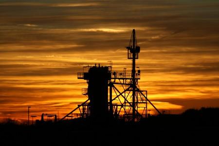 Sonnenuntergang am Gersteinwerk