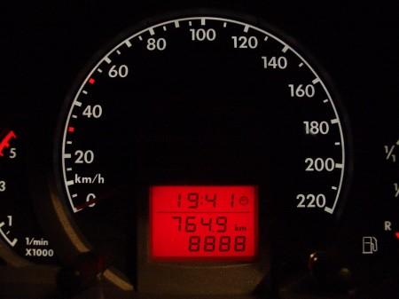 Der Fox mit 8888 km