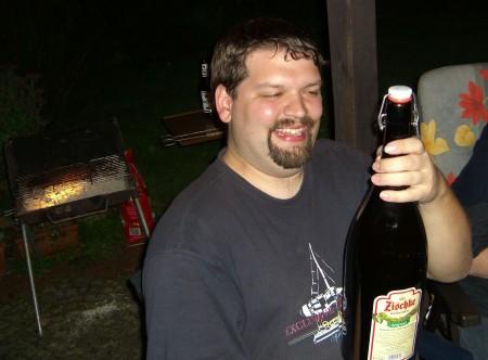 3 Liter Zischke Bier (und ich :-)