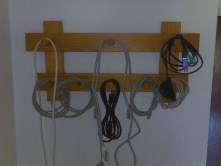 Kabel-Garderobe