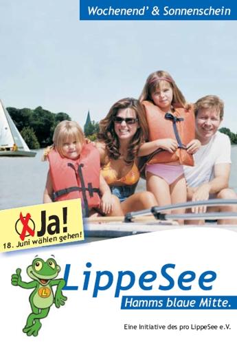 Wahlplakat Pro Lippesee